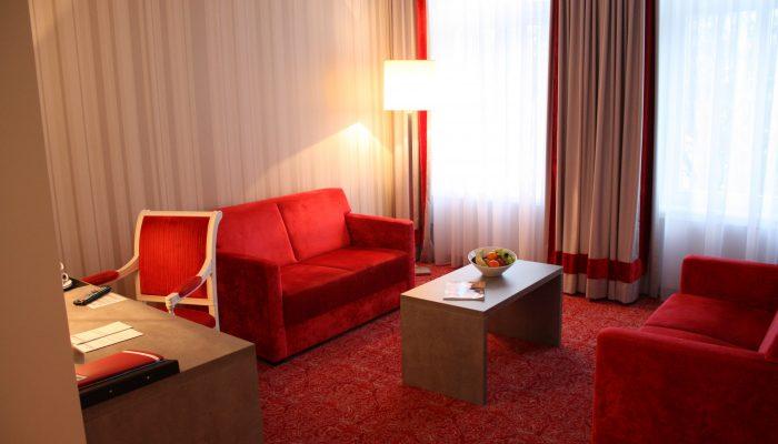 Junior Suite Altbau 4 Sterne Hotel Bielefeld
