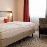 Suite Doppelbett 4 Sterne Hotel Bielefeld