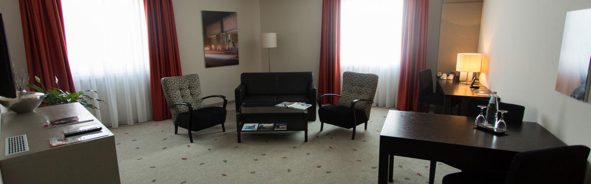 Wohnbereich Suite Hotel Bielefeld Innenstadt