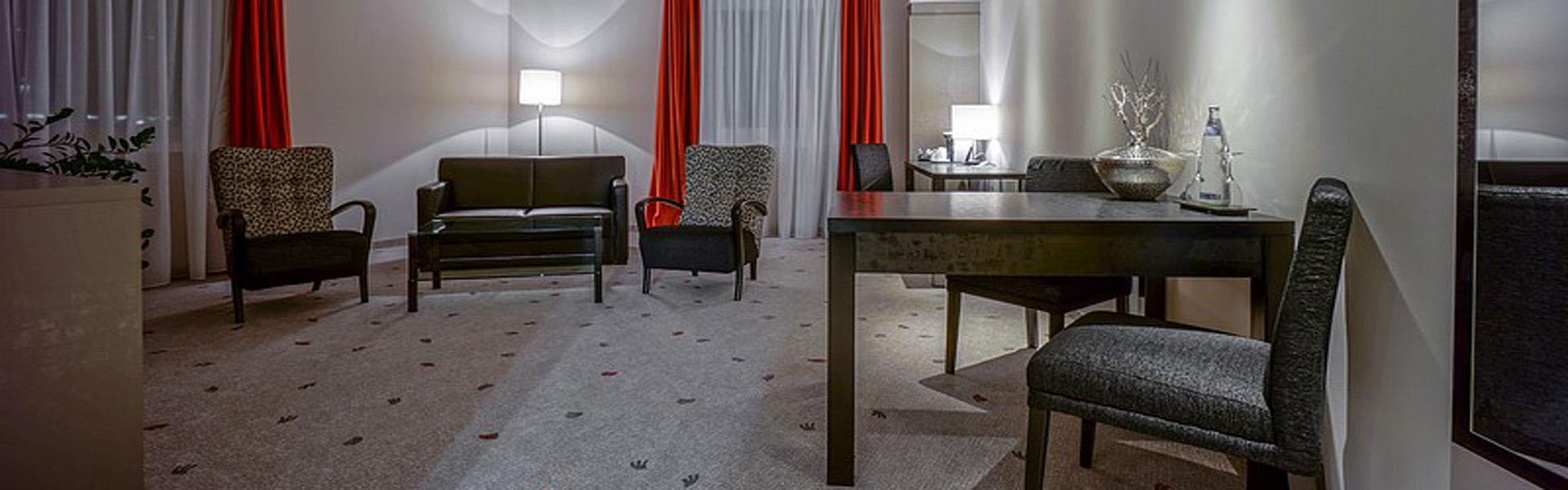 Suite Wohnbereich Hotel Bielefeld Zentrum