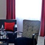 Wohnbereich Suite Übernachtung Bielefeld