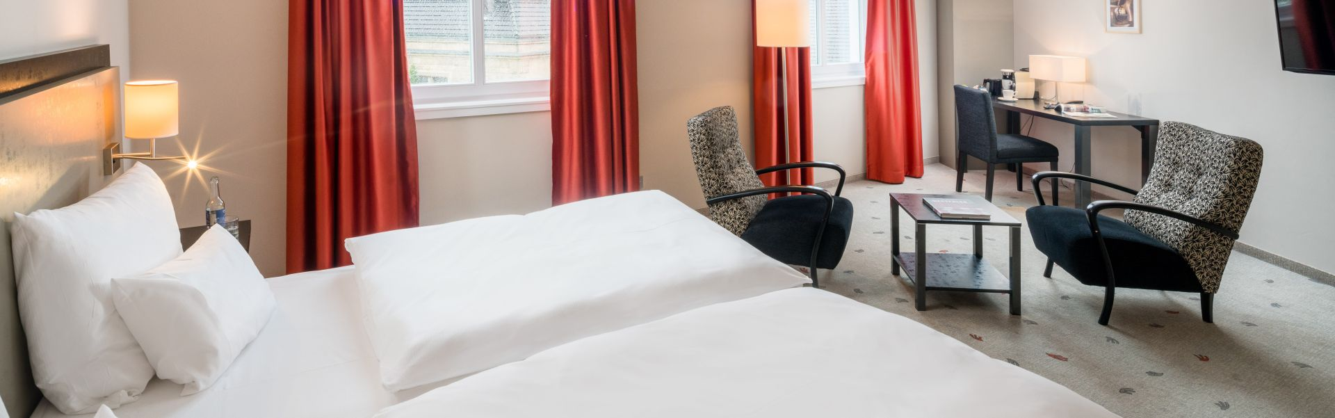 Einrichtung Hotelzimmer Bielefelder Hof
