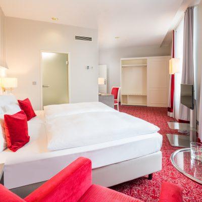 Bielefelder Hof Hotelzimmer Räumlichkeit