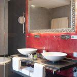 Bielefelder Hof Badzimmer mit Badewanne
