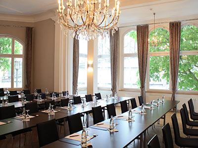 Konferenzraum im Tagungshotel Bielefelder Hof