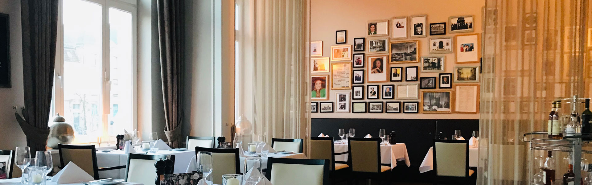 Restaurant GeistReich Hotel Bielefeld Innenstadt