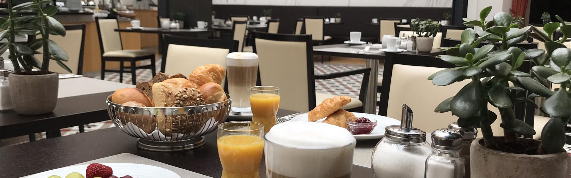 Frühstück 4 Sterne Hotel Bielefeld Innenstadt