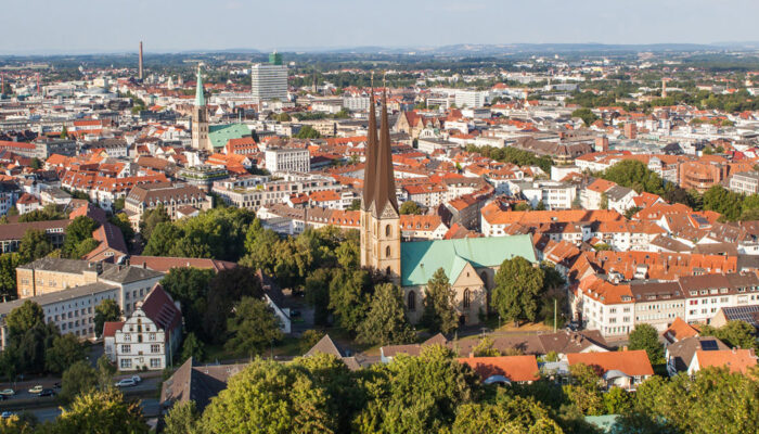 Bielefeld Panorama Burg