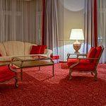 Wohnbereich Turmsuite 4 Sterne Hotel Bielefeld