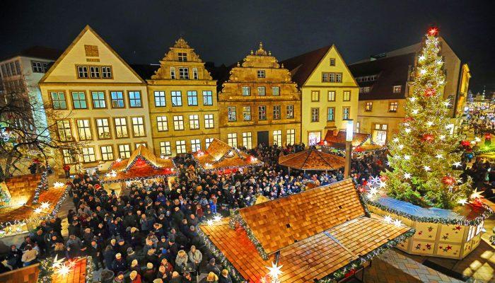 Wochenende Bielefeld Weihnachtsmarkt Familie Bielefelder Hof Blog
