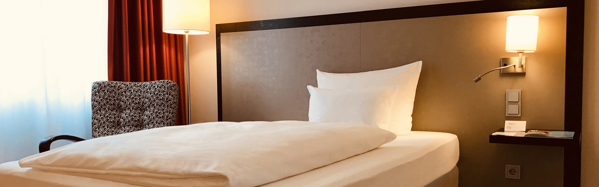 Economy Zimmer Bett Bielefeld Hotel Bielefelder Hof