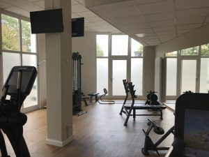 Bielefelder Hof Hanteln Fitnessraum