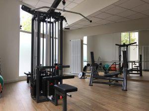 Fitnessraum Hanteln Bielefelder Hof
