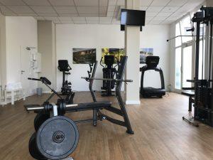 Fitnessraum Hanteln
