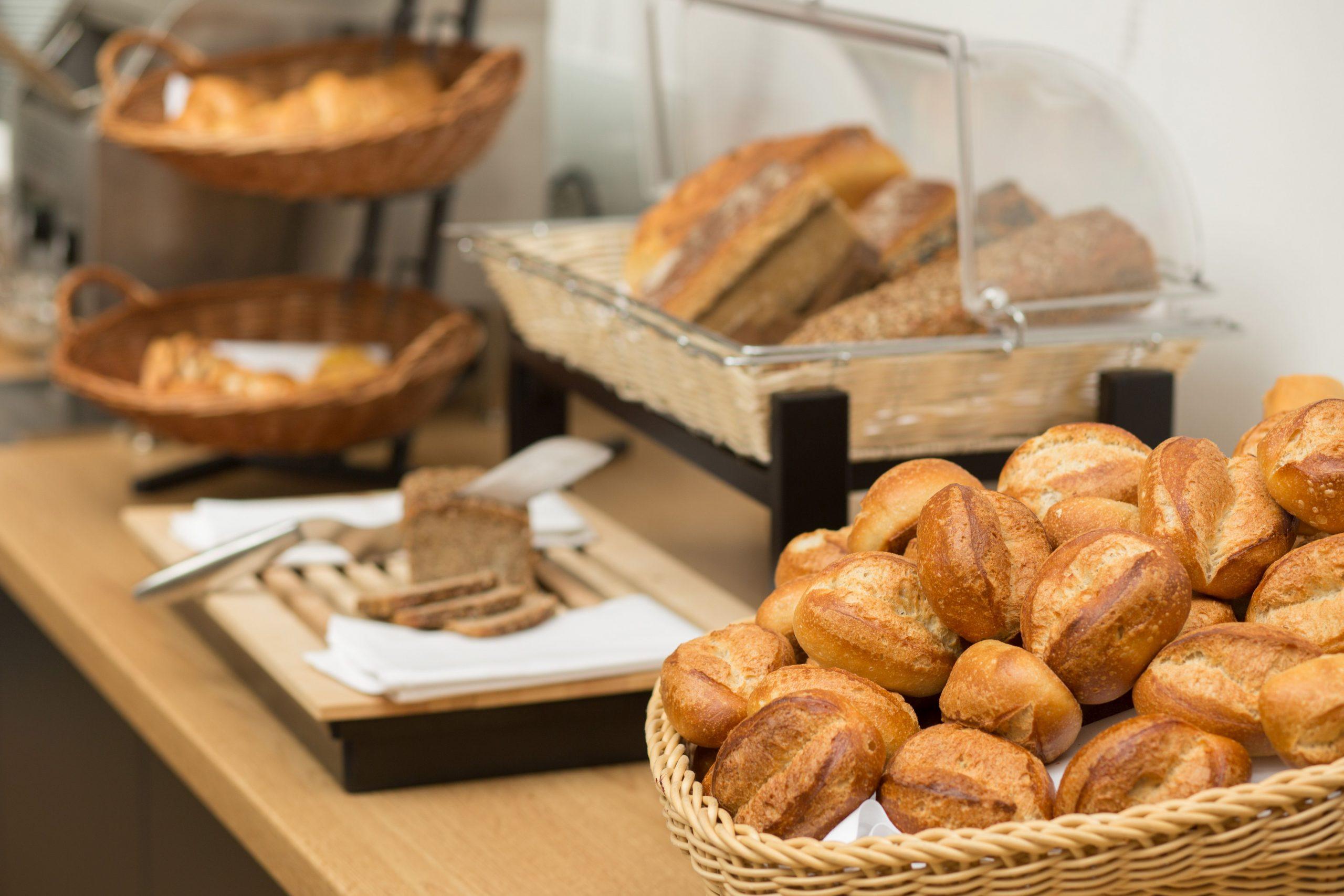 Frühstück Brötchen Bielefelder Hof