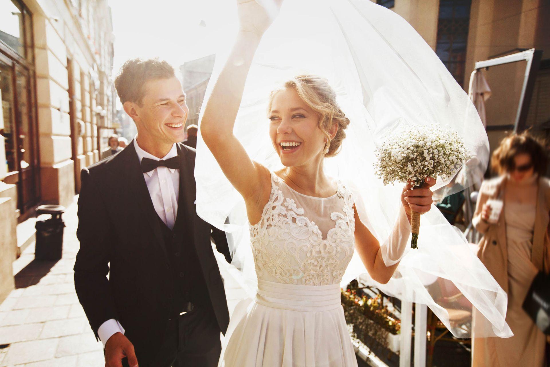 Brautpaar Bielefelder Hof Hochzeit