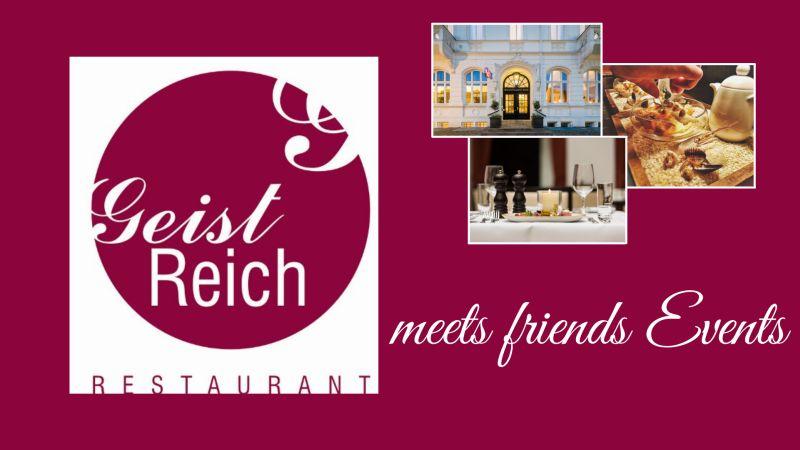Geist Reich Events Friends Logo Restaurant